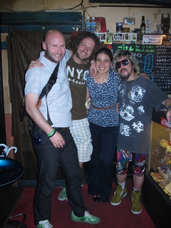 Me, Pascal, Bonnie and the Japanese bar owner