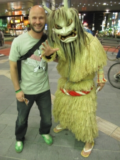 In Roppongi you meet strange people