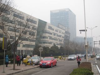 Smog lies thick over Ericsson