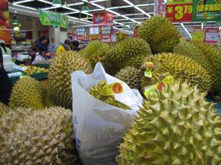 Mmm durian...